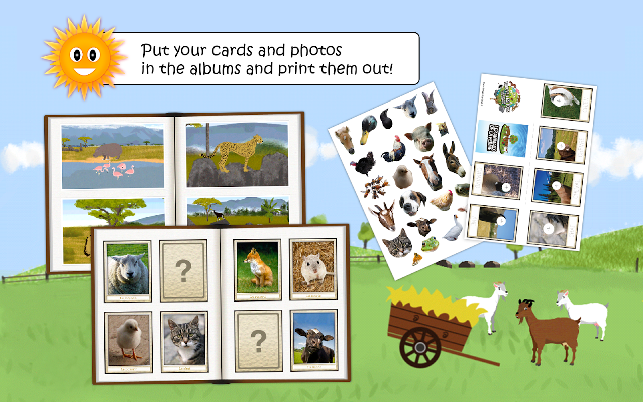 Vocabulary & Pictures - Game 2: Animals Find animals in pictures
