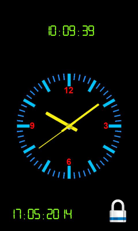 Как сделать часы на андроиде