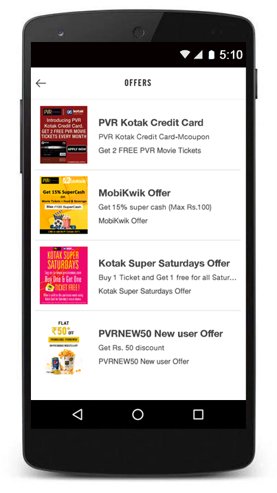 BookMyShow  Movie Tickets Plays Sports Events