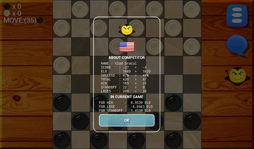 Игра Классические шашки онлайн (Checkers Classic
