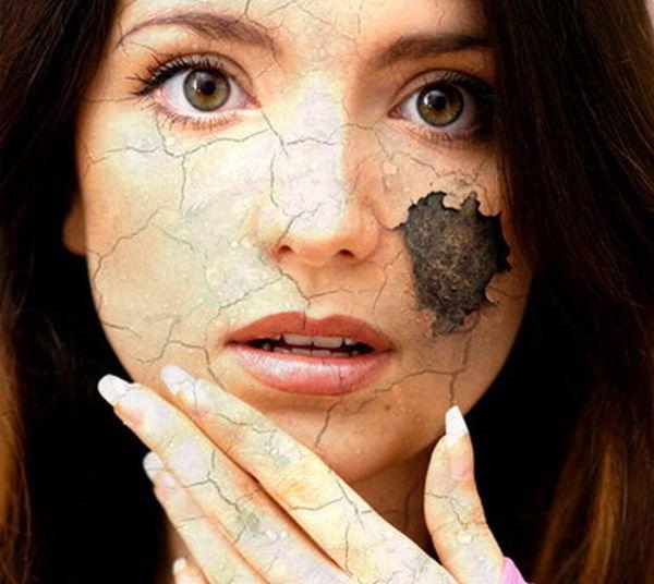 Фотошоп как сделать грязь на лице